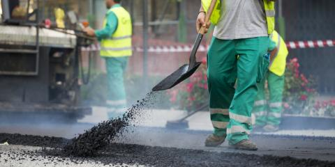 5 Benefits of Asphalt Paving, Middle Fork II, North Carolina
