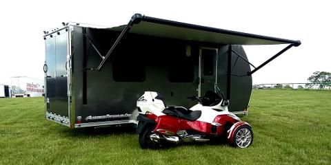 ATC 7 x 20' RV / Toy Hauler -- Lightweight, and Ready to
