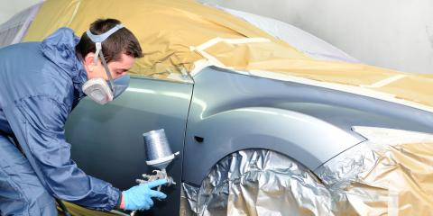 Auto Paint Considerations for Chip Repair, Jefferson, Georgia
