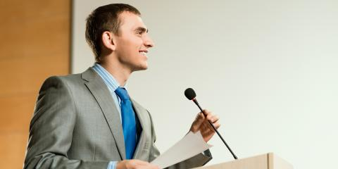 4 Public Speaking Tips for a Work Event, Bronx, New York