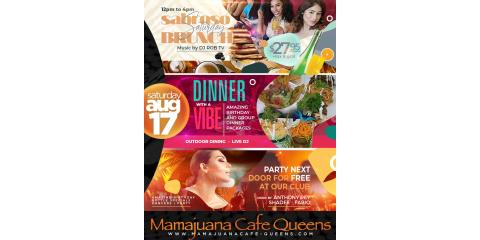 SABROSO SATURDAYS- BRUNCH- DINER WITH A VIBE- AUG 17th - MAMAJUANA CAFE QUEENS, New York, New York
