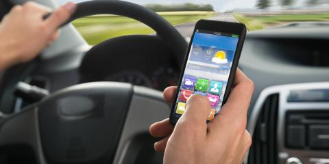 Don't Text & Drive & Stay Alert, Even in Nice Weather, East Rochester, New York