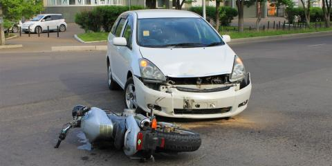 3 Steps to Take After Motorcycle & Auto Accidents, Washington, Pennsylvania