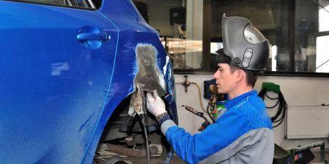 How an Auto Body Shop Inspects a Vehicle After an Accident, East Hanover, New Jersey
