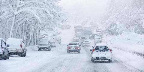 3 Winter Driving Safety Tips, Belpre, Ohio