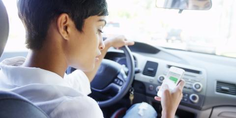 5 Causes of Distracted Driving, Lincoln, Nebraska