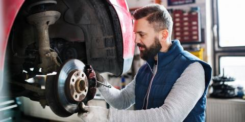 3 Signs You Should Have Your Brakes Inspected, Lincoln, Nebraska