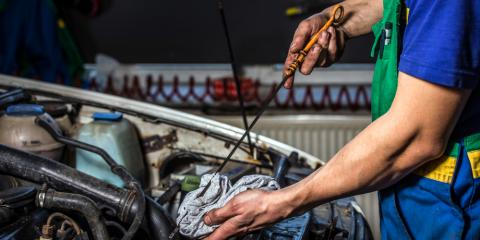 3 Signs Your Car Needs an Oil Change, Anchorage, Alaska