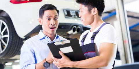 How to Deal With Scheduled Maintenance & Auto Repairs, Brookhaven, New York