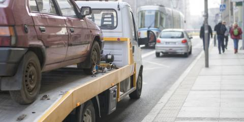 3 Common Reasons for Car Towing, Burnsville, Minnesota