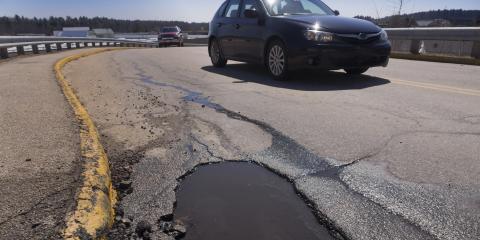 5 Ways Potholes Can Damage Your Vehicle, Somerset, Wisconsin