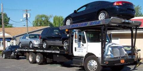 Different Types of Trucks Used for Auto Towing, Waterbury, Connecticut