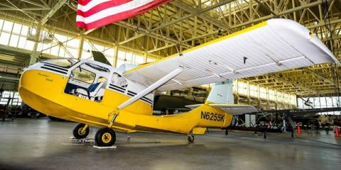 Pacific Aviation Museum Pearl Harbor Featured Aircraft: the Republic RC-3 Seabee , Ewa, Hawaii