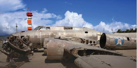 Get Pacific Aviation Museum Pearl Harbor Tickets to See a Boeing B-17E Flying Fortress, Ewa, Hawaii