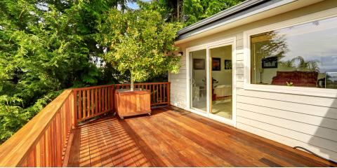 3 Reasons to Stain Your Deck, Avon, Connecticut