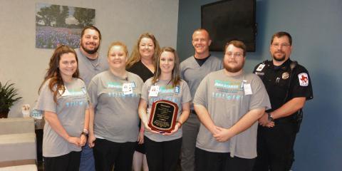 Advanced Wound Care Celebrates Award, Gatesville, Texas