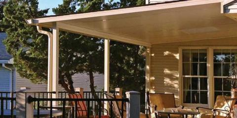 Retractable Awnings Vs. Patio Roof Covers: How To Decide   Patio Enclosures    East Rochester   NearSay