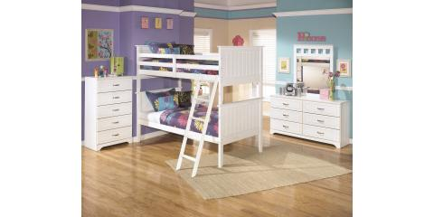 Sale Bunk Bed With Mattresses Lulu By Ashley 500 Mcguire