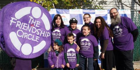 "Chabad of the Five Towns And Friendship Circle: ""Bike4Friends"", For Many Miles Into The Future, Hempstead, New York"