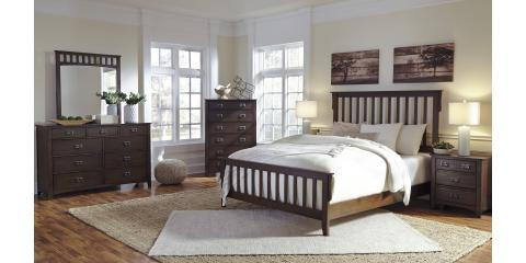 Strenton 6 Piece Bedroom Set By Ashley 1134 Mcguire Furniture Rental Sales Nearsay