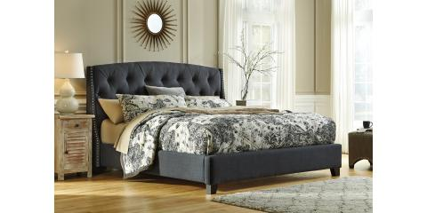 QUEEN UPHOLSTERED BED-KASIDON BY ASHLEY-$437, Maryland Heights, Missouri