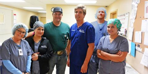 Patient is Back to Work, Family & Life after Hernia Surgery, Gatesville, Texas
