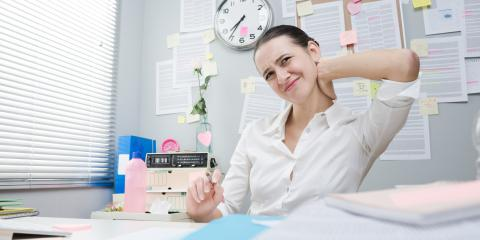 3 Ways to Reduce Back and Neck Pain at the Office, Montvale, New Jersey