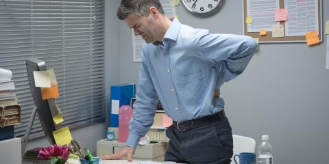 3 Stretches to Relieve Neck & Back Pain in the Office, Streetsboro, Ohio