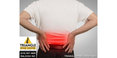 How To Alleviate Back Pain, Raleigh, North Carolina
