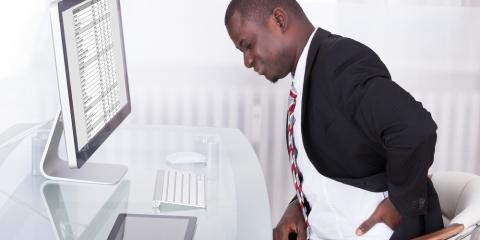 To Ease Work-Related Back Pain, Follow 3 Tips to Improve Your Posture, Union, Ohio