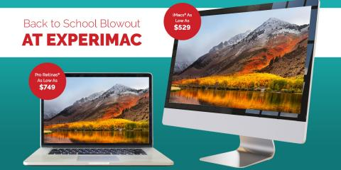 Back to School Blowout at Experimac!  Best deals of the year, 6, Louisiana