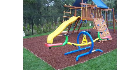 5 things to put under your playset to save your child from harm duncan - Backyard Playground Equipment