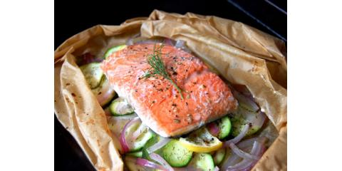 Easy Paprika Salmon, Groton, Massachusetts