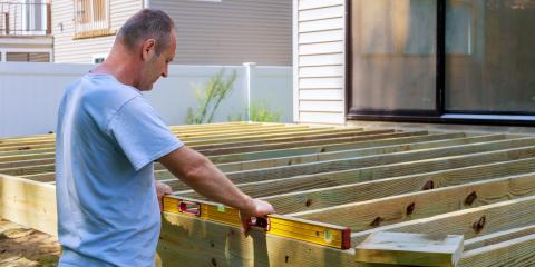 5 Materials to Use in Deck Building, Ballwin, Missouri