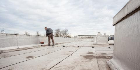 Why Flat Roof Contractors Recommend Coating the Surface, Lemont, Illinois