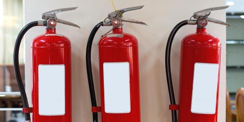 5 Suppression Agents Found in Fire Extinguishers, Eau Claire, Wisconsin