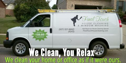 Final Touch Cleaning Services, Cleaning Services, Services, Vandalia, Ohio
