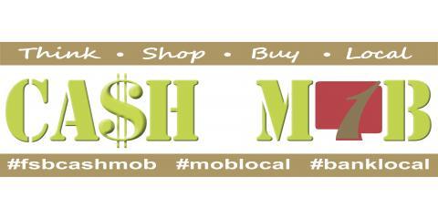 Cash Mob, Russellville, Arkansas