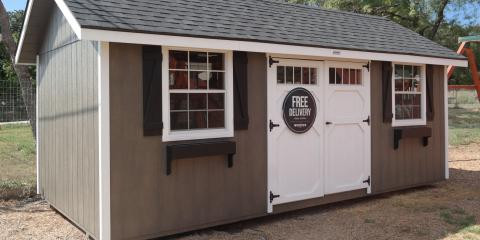 How Backyard Adventures of San Antonio Makes the Most Reliable Portable Shed, San Antonio, Texas