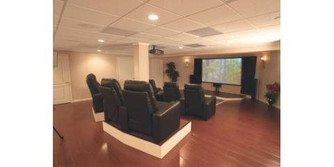 Basement Finishing Project;Get aFree TV*, Perinton, New York