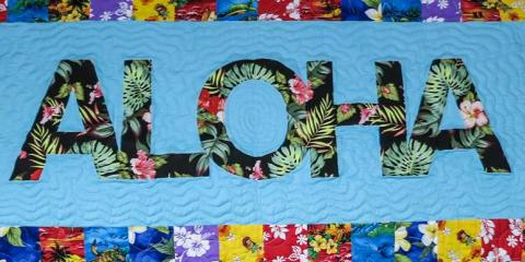 Learn Basic Quilting in Hawaii's Best Quilting Class, Kihei, Hawaii