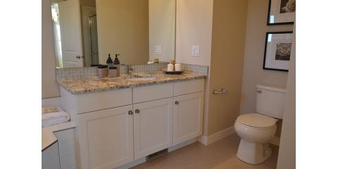 Get a fresh look with an updated bathroom vanity from for Bath remodel lincoln ne