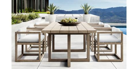 Barlas Baylar Debuts Outdoor Furniture Line for Restoration Hardware, New York, New York