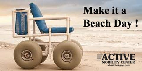 Beach Wheelchairs in Ft. Lauderdale, Pompano Beach, Florida