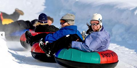 Snow Tubing Speed Tricks: How to be the First One Down Beach Mountain, Mason, Ohio
