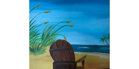 Beach Chair Paint Party, Maryland Heights, Missouri
