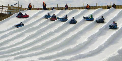 Groups Enjoy Snow Tubing at The Beach Mountain in Mason, Mason, Ohio