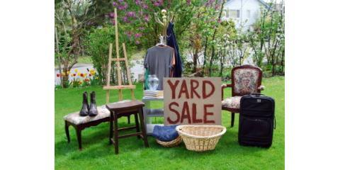 Becker Movers Shares Easy Ways to Host a Yard Sale Before Your Move, Rochester, New York