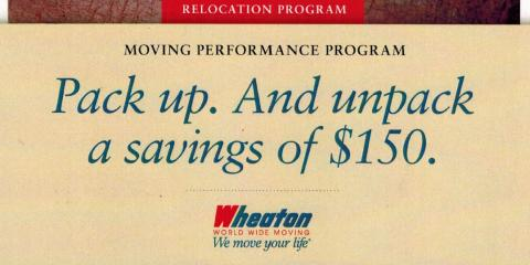Save up to $150 on Your Move and A Free Home Estimate!, Fairfield, Ohio