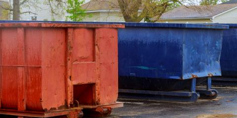 How to Select the Right Dumpster Size, Belleville, New Jersey